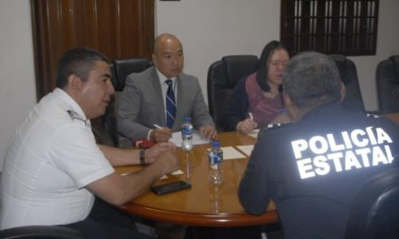 ¡Se reúne el secretario de Seguridad Pública del Estado con el cónsul de Japón!