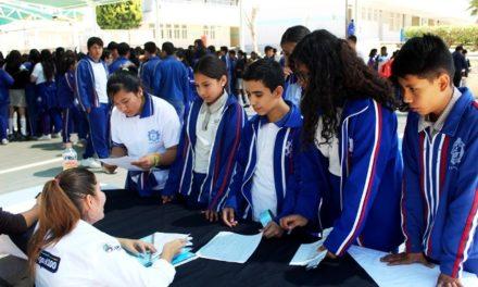 ¡Promueve SIPINNA cursos y talleres de la Casa del Adolescente entre estudiantes de secundaria!