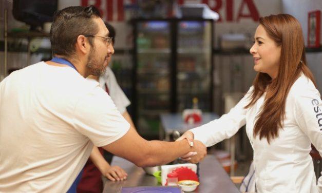 ¡Tere Jiménez seguirá fortaleciendo al comercio local!