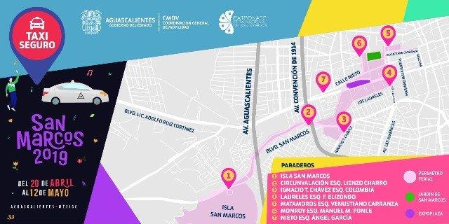 """¡CMOV publica tarifas especiales de """"Taxi Seguro"""" y transporte urbano para la edición 2019 de la FNSM!"""
