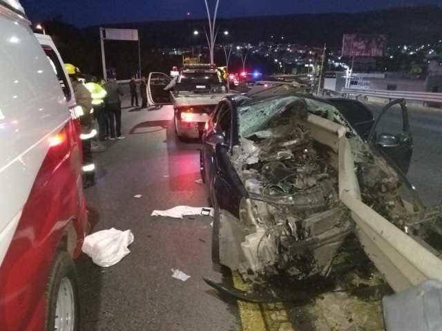 ¡2 policías investigadores de Antisecuestros murieron en accidente en Zacatecas!