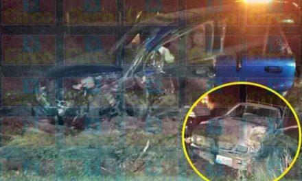 ¡Choque frontal entre 2 camionetas en Encarnación de Díaz dejó 6 lesionados!