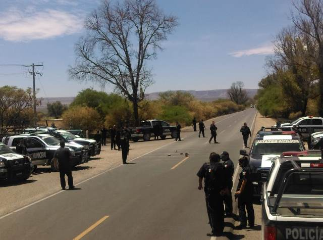 ¡Delincuentes se enfrentaron a balazos con policías estatales de Zacatecas y Aguascalientes!