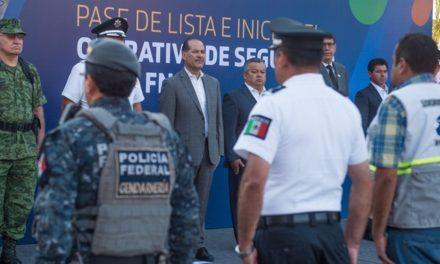 ¡Arranca el operativo de seguridad con motivo de la Feria Nacional de San Marcos 2019!