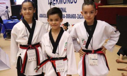 ¡Extraordinaria participación de los taekwondoines en Olimpiada Regional!