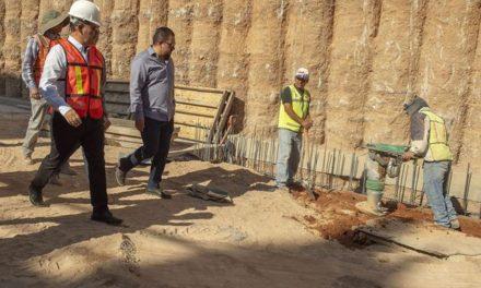 ¡Avanza la construcción del paso a desnivel del antiguo camino a San Ignacio!