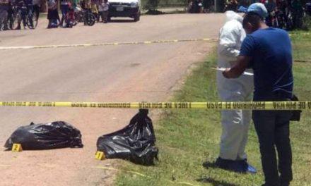 ¡Tiran bolsa con restos humanos en Guadalupe, Zacatecas!