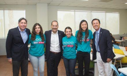 ¡200 alumnas de Aguascalientes desarrollan conocimientos en ingeniería y matemáticas!