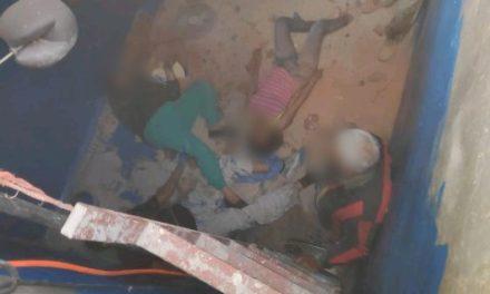 ¡5 personas se salvaron de morir intoxicadas dentro de un aljibe en Aguascalientes!