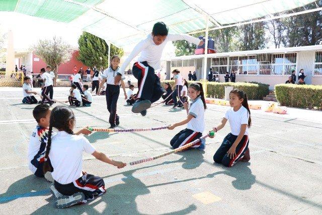 ¡Aguascalientes primer lugar en cobertura de educación física!