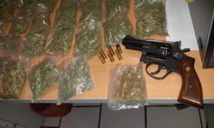¡Detuvieron a sujeto con un arma de fuego y droga en Cañitas de Felipe Pescador!