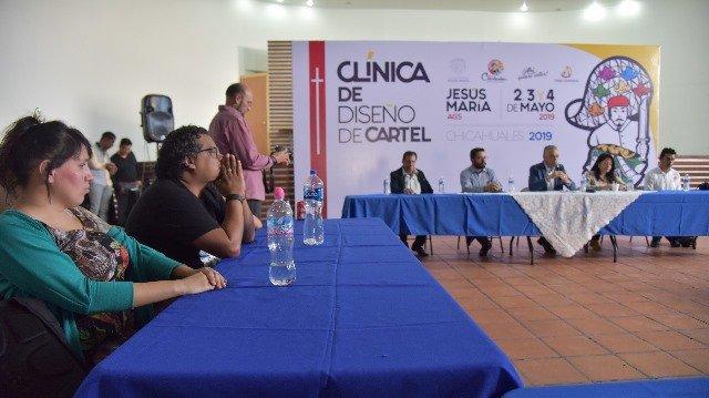 ¡Arrancó en Jesús María la Clínica de Diseño de Cartel previo a la Feria de los Chicahuales!