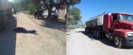 ¡Chofer murió tras caer de una pipa con agua en Aguascalientes!