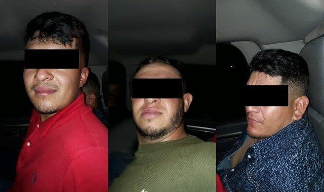 ¡Detuvieron a 3 sujetos que realizaron detonaciones con un arma de fuego en Aguascalientes!