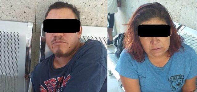 ¡Detuvieron a pareja que intentó extorsionar a una familiar en Aguascalientes!