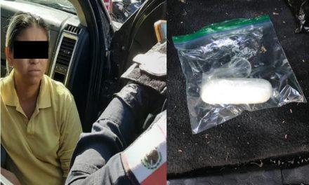 ¡Detuvieron a mujer que intentó meter droga al CERESO Aguascalientes!