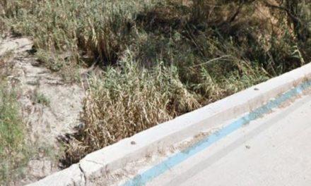 ¡Localizaron restos humanos dentro de una bolsa en el arroyo del Guaricho en Lagos de Moreno!