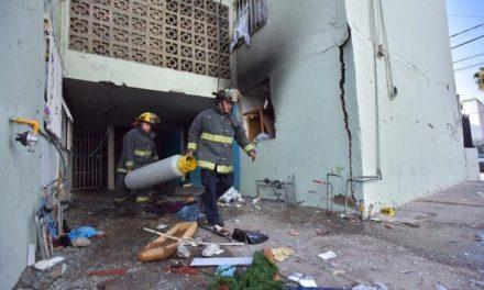¡Explosión en un edificio en Aguascalientes dejó 6 lesionados!