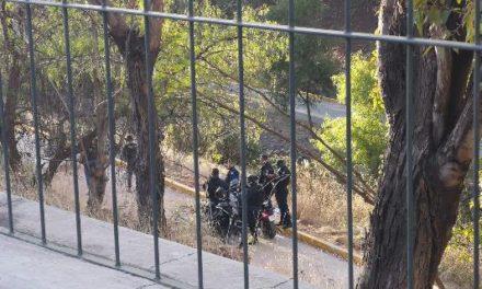 ¡Encontraron a un hombre colgado en un árbol en el parque Arroyo de la Plata en Zacatecas!