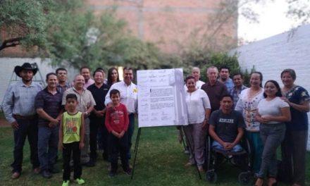 ¡Firman sectores de Pabellón de Arteaga Carta de Intención con Cuauhtémoc Escobedo!