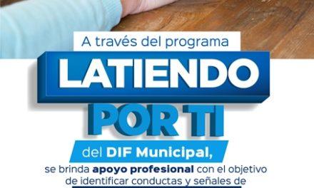 "¡Programa municipal ""Latiendo por Ti"" busca prevenir suicidio!"