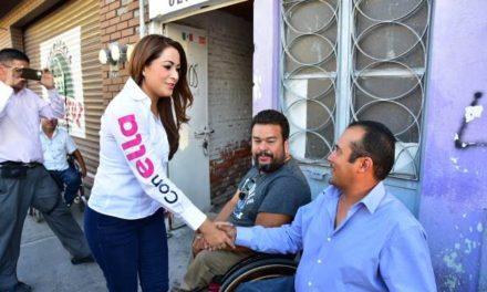 ¡La acción clave de este proyecto es inclusión social: Tere Jiménez!