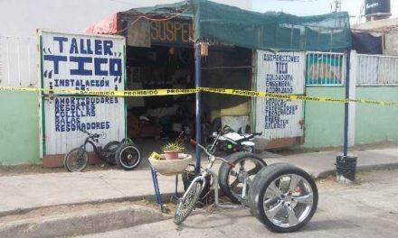 ¡A balazos hirieron a un mecánico al intentar ejecutarlo en Aguascalientes!