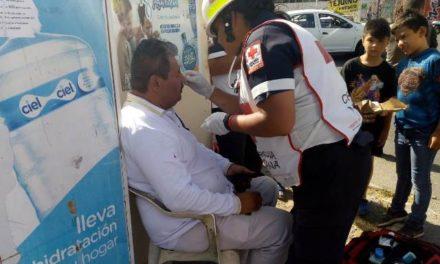 ¡Otro automovilista se salvó de morir tras ser embestido por el tren en Aguascalientes!