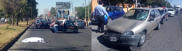 ¡Quincuagenaria murió atropellada por una automovilista en Aguascalientes!