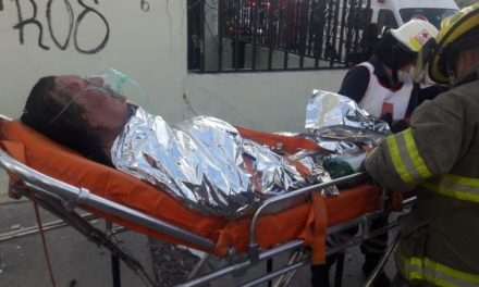 ¡Murió la mujer quemada tras la explosión en un edificio en Aguascalientes!