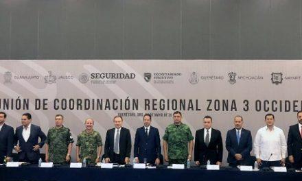 ¡Necesario fortalecer las Policías Municipales, plantea MOS en la Reunión Regional de Seguridad!