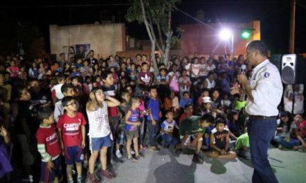 ¡JAAL se comprometió ante niños de Jesús María a crear más espacios públicos seguros para la recreación!