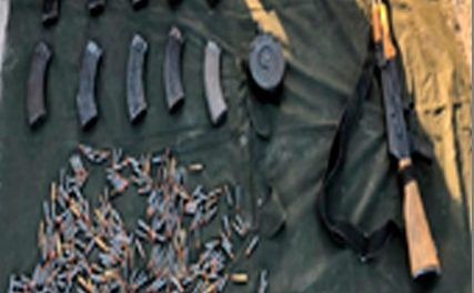 """¡Policías federales y militares aseguraron pólvora, un """"cuerno de chivo"""", cargadores y cartuchos en Lagos de Moreno y Unión de San Antonio!"""