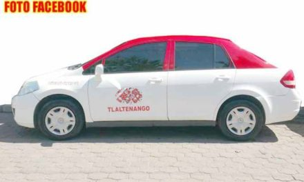 ¡Chofer fue ejecutado y calcinado junto con su taxi en Tlaltenango!