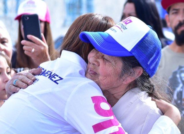 ¡Tere Jiménez llama a las y los aguascalentenses a participar en la construcción de una mejor ciudad!