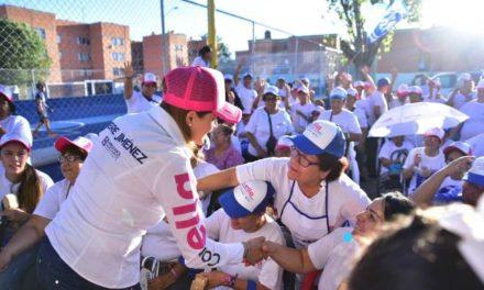 ¡Tere Jiménez seguirá luchando para que mujeres y niñas de Aguascalientes vivan libres de violencia!