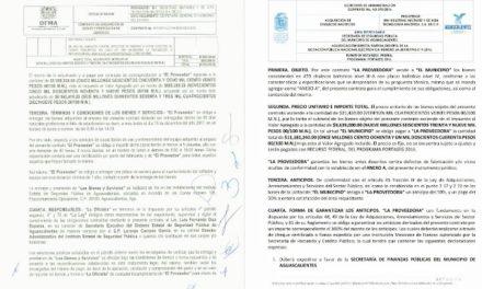 ¡Tere Jiménez y Martín Orozco otorgan contratos por casi 20 millones en un año a Arturo Ávila!