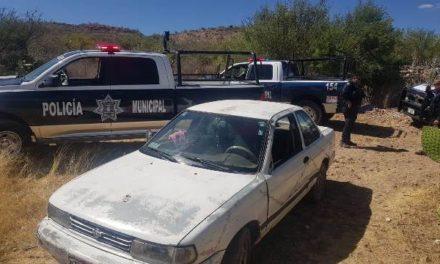 ¡Tras operativo implementado con apoyo del helicóptero Águila 1 fue recuperado en cuestión de minutos un vehículo robado!