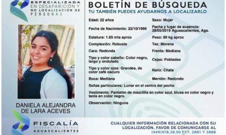¡Ya fue localizada la paramédico de la Cruz Roja que estaba desaparecida en Aguascalientes!