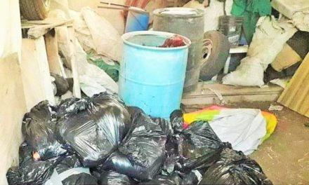 ¡Fueron 14 cuerpos encontrados en una finca en Tlajomulco de Zúñiga!