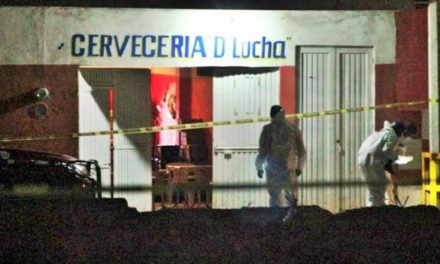 ¡Ejecutaron a un hombre y a una mujer en la cervecería D'Lucha en Guadalupe!