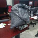 ¡Elementos de la PEP aseguraron en Villanueva 8 kilos de marihuana en una camioneta robada en Aguascalientes!