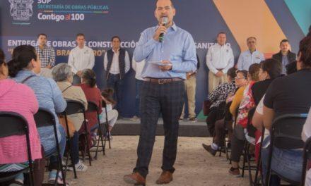 ¡Entrega gobernador sistema de drenaje sanitario en las comunidades de La Perla y El Bramadero!