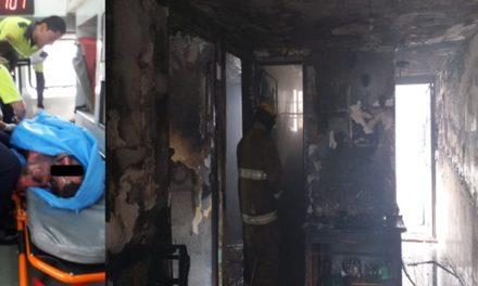 ¡Agoniza hombre que sufrió quemaduras graves tras incendiarse su casa en Aguascalientes!