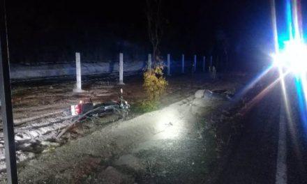 ¡Agoniza joven que sufrió fuerte caída de su motocicleta en Aguascalientes!