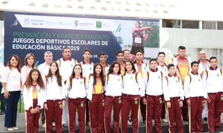 ¡Más de 400 alumnos representarán a Aguascalientes en Juegos Deportivos Nacionales de Educación Básica 2019!