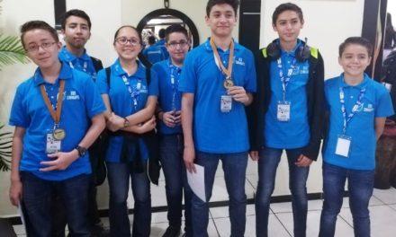 ¡Alumnos de Aguascalientes obtienen medalla de bronce en Olimpiada Nacional de Matemáticas 2019!
