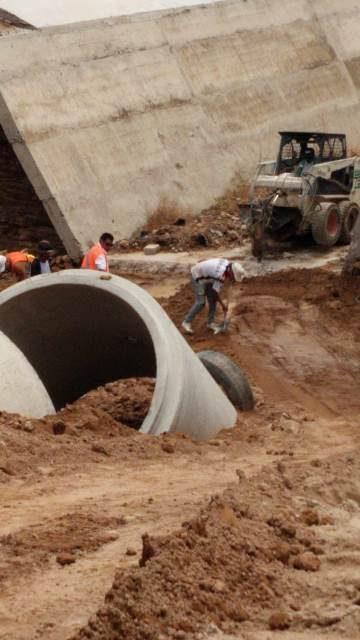 ¡Municipio realiza obras por 10mdp en bordo Santa Elena para evitar inundaciones!
