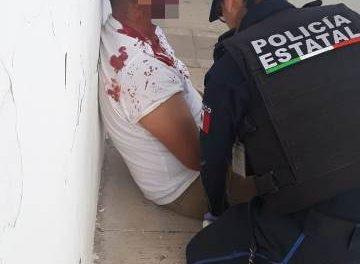 ¡Joven baleado en Zacatecas fue hospitalizado en Aguascalientes!