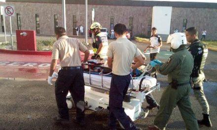 ¡Grave niña atropellada por una camioneta en Aguascalientes!